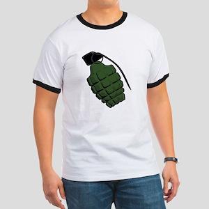 Pineapple Grenade Ringer T
