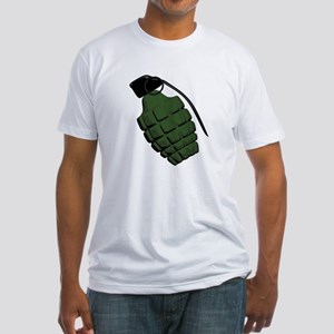 Pineapple Grenade Fitted T-Shirt