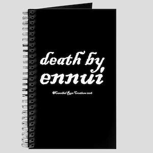 Death By Ennui Journal
