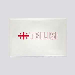 Tbilisi, Georgia Rectangle Magnet