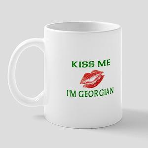 Kiss Me I'm Georgian Mug