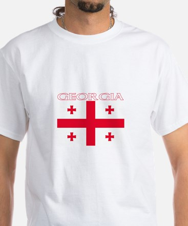 Georgia White T-Shirt