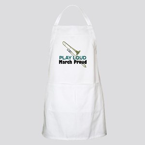 Play Loud March Proud Trombone BBQ Apron