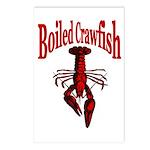 Boiled Crtawfish Postcards (Package of 8)
