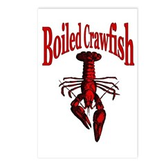 Boiled Crawfish Postcards (Package of 8)