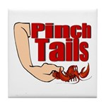 Pinch Tails, Suck Heads! Tile Coaster