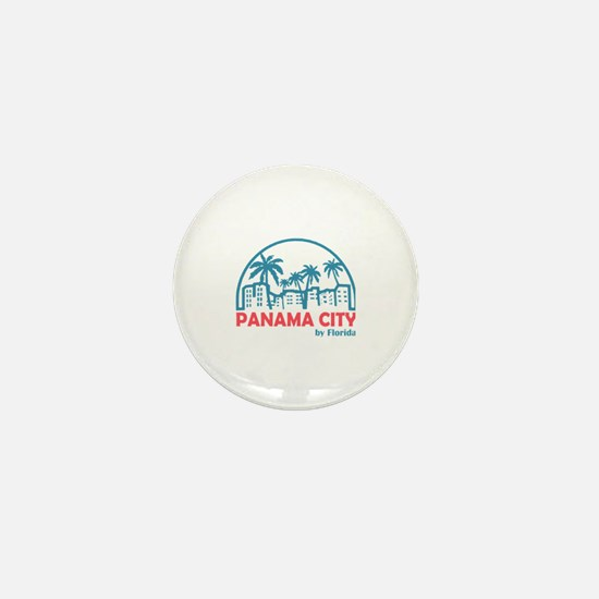 Funny Panama city Mini Button