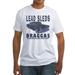 LEAD SLED in PRIMER Fitted T-Shirt