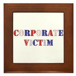 Corporate Victim Framed Tile