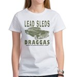 Lead Sleds in Green Women's T-Shirt