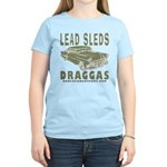 Lead Sleds in Green Women's Light T-Shirt