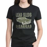 Lead Sleds in Green Women's Dark T-Shirt