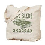Lead Sleds in Green Tote Bag