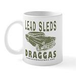 Lead Sleds in Green Mug