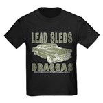Lead Sleds in Green Kids Dark T-Shirt