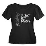 Silent But Deadly Women's Plus Size Scoop Neck Dar