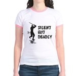 Silent But Deadly Jr. Ringer T-Shirt