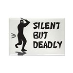 Silent But Deadly Rectangle Magnet (10 pack)