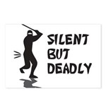 Silent But Deadly Postcards (Package of 8)