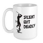 Silent But Deadly Large Mug