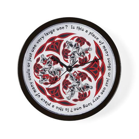 Celtic Music Wall Clock