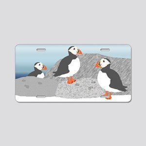 Puffin Aluminum License Plate