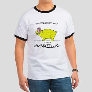 manxzilla_10x10-ylw T-Shirt