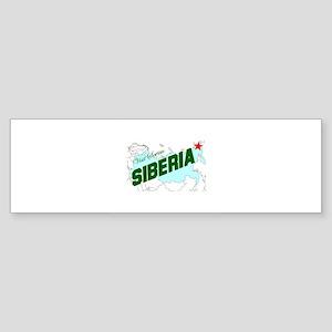 Visit Scenic Siberia Bumper Sticker