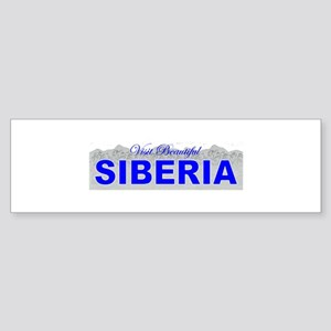 Visit Beautiful Siberia Bumper Sticker