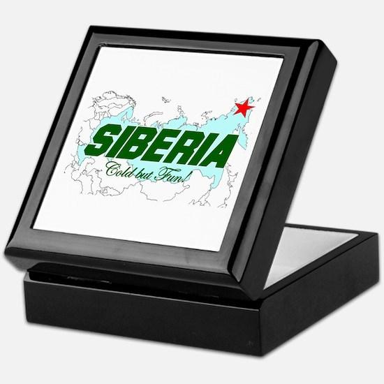 Siberia: Cold But Fun! Keepsake Box