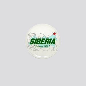 Siberia: Cold But Fun! Mini Button