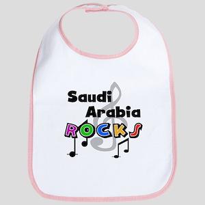 Saudi Arabia Rocks Bib