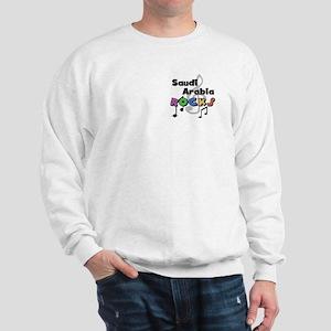 Saudi Arabia Rocks Sweatshirt