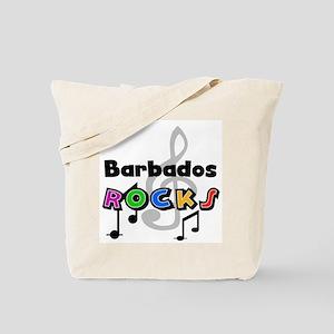 Barbados Rocks Tote Bag