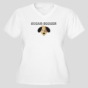 SUGAR-BOOGER (dog) Women's Plus Size V-Neck T-Shir
