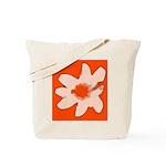 Flower Tote Bag (Orange)