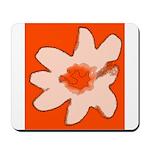 Flower Mousepad (Orange)