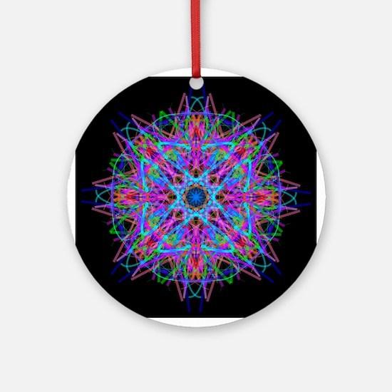 Kaleidoscope 0005c Ornament (Round)