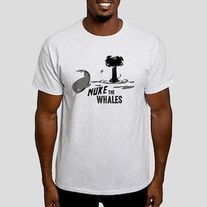 Nuke the Whales Light T-Shirt