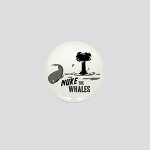 Nuke the Whales Mini Button