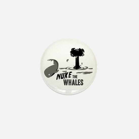 Nuke the Whales Mini Button