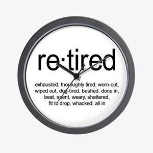Definition of Retired Wall Clock