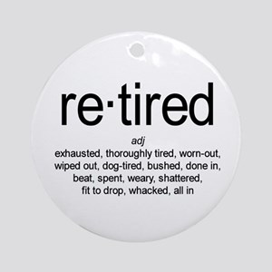 Definition of Retired Ornament (Round)