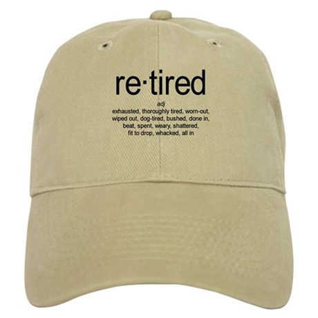 2e44e99c13e Definition of Retired Baseball Cap by TheSimpleLife