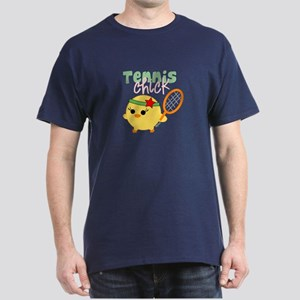 Tennis Chick Dark T-Shirt
