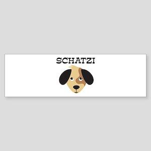 SCHATZI (dog) Bumper Sticker