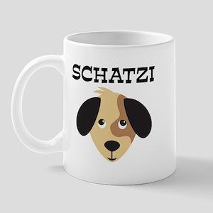 SCHATZI (dog) Mug
