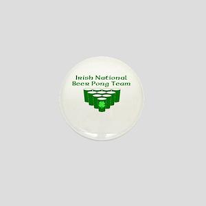 Irish National Beer Pong Team Mini Button