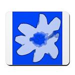 Flower Mousepad (Blue)