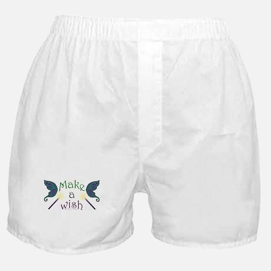 Make a wish Boxer Shorts